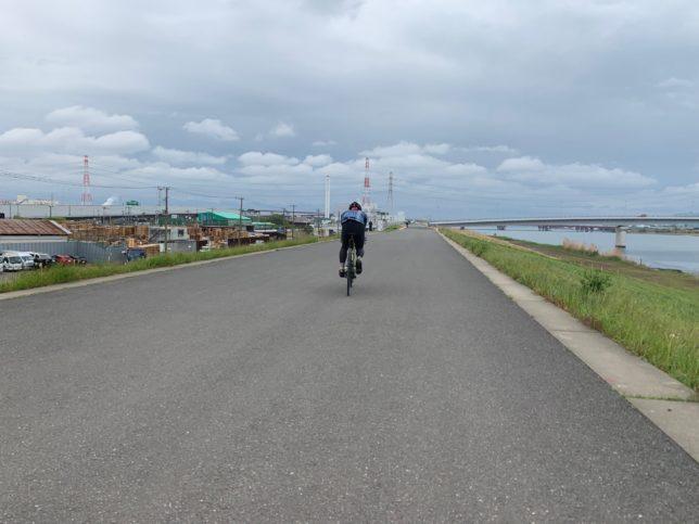 東京 荒川サイクリングロード ライド
