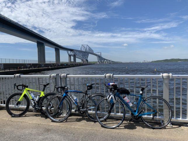 東京 サイクリングツアー 葛西臨海公園 若洲海浜公園 ディズニーリゾート
