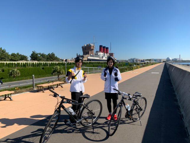 東京 サイクリングツアー 東京ディズニーリゾート 葛西臨海公園