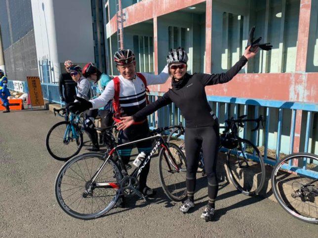 ルブリカント 荒川サイクリングロード ライドイベント